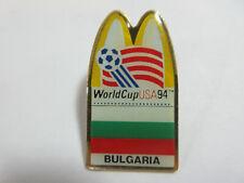 1994 WORLD CUP USA SOCCER McDONALDS BULGARIA NATIONAL TEAM FLAG PIN