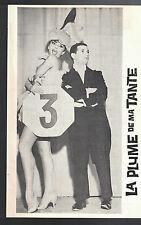 La Plume de ma Tante Program Auditorium Theatre 1962 Robert Clary