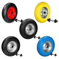 4.80 / 4.00-8 Pneumatico ruota PU solido carriola ruota + asse a scelta tua