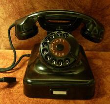 W38  Telefon Bakelit W38 SIEMENS Telephone  Fernsprecher 11.1949 Wie neu!