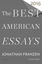 THE BEST AMERICAN ESSAYS 2016 - FRANZEN, JONATHAN (EDT)/ ATWAN, ROBERT (EDT) - N