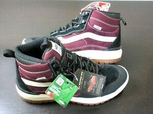 Vans Mens UltraRange Exo Hi MTE Boots Port Royale Marshmallow Black Size 9.5 NEW