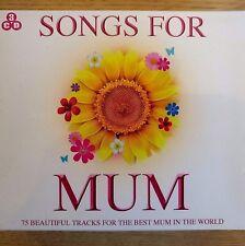 3CD NEW SEALED - 75 SONGS FOR MUM - Pop Music 3x CD Album Box Set