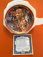 Upper Deck Michael Jordan Commemorative Plate - 72 Wins