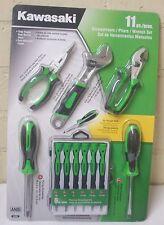Kawasaki 841848 11Pc Precision Screwdrivers, Pliers, Wrench Set