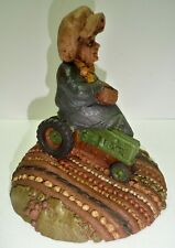 Rare 1989 Tom Clark Gnome Flora on a John Deere Tractor #81 5070