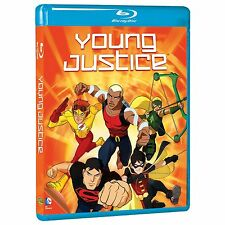 Young Justice Complete First Season 1 One Blu-ray Set Series TV Comics Show Film