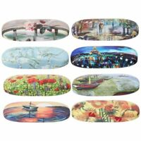 Vintage Eyeglass Case Printed Storage Eye-wear Sunglasses Box Glasses Container