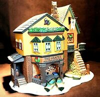 THE GRAPES INN #57534 – Dept 56 Dickens Village + Free Gift