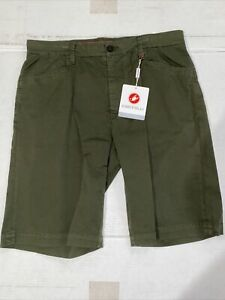 Castelli Cycling BRAND NEW VG 5 Pocket Short Size Large - Green