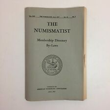 American Numismatic Association - Member Directory - July 1957