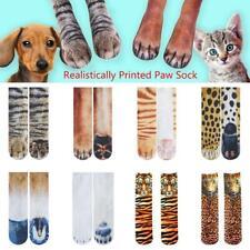 1 Pair Unisex Adult Funny 3D Animal Print Elastic Socks Breathable Long Socks