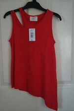 1f1926af6e8729 Girls asymmetrical top from Matalan. Aged 9years. New with tag. Red