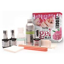 The Edge Nails FX Soak Off Uñas de Gel de Color juicio Starter Set Kit sin disolventes