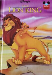 Disney The Lion King Book Hardback Disneys Wonderful World Of Reading 1994