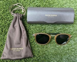 OLIVER PEOPLES Vintage Gasses OP-505 Brown Havana Unisex Sunglasses