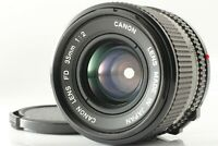 【NEAR MINT】 Canon New FD NFD 35mm F2 Wide Angle MF Lens For SLR from JAPAN # 529