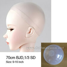 2pcs 9-10inch Wig Cap 1/3 BJD 70cm BJD Head Silicone Sheath Dollfie DOD SOOM MID