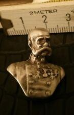 Kleine Metall Büste Kaiser von Österreich Anhänger  (762)