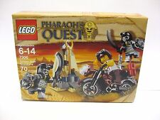 Lego Pharaoh's Quest 7306 Golden Staff Guardians Sealed