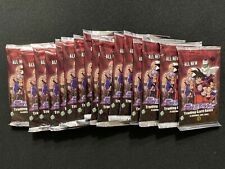 DragonballZ DBZ TCG Arrival Booster Pack Lot x16 Packs