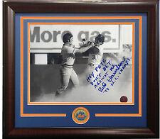 Bud Harrelson Signed 8x10 Photo framed METS 1973 Pete rose fight DONT BET COA