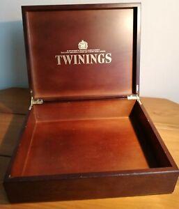 Twinings Luxury Wooden Tea Box Chest
