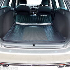 LDPE boot liner tray rubber load mat or bumper protector VW Golf MK 7 VII estate