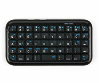 Portable Wireless Mini Bluetooth Keyboard for Wiko Robby & Lubi 4 Smartphones