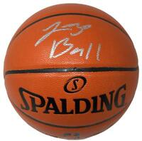 Lonzo Ball Los Angeles Lakers Signed Spalding Basketball BAS