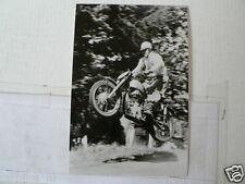 C AUGUSTE MINGELS FN EK 1953-54 MX CROSS VINTAGE POSTCARD MOTO 01-02