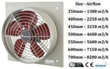 Industrial Commercial Square Frame Axial Extractor Fan,LOW NOISE and CONSUMPTION