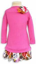 - 50% Monnalisa Kleid pink Gr. 104/4Y~Blumenrock~NP 144,00 €~NEU