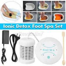 Personal Ionic Detox Foot Basin Bath Spa Cleanse Machine Array Health Care Kit !