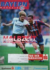 Programm 1996/97 FC Bayern München - Mönchengladbach