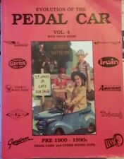 EVOLUTION OF THE PEDAL CAR value guide collector's book