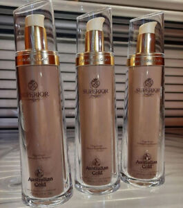 NEW Australian Gold Superior Magnificent Natural Luxe Bronzer 7 oz Lot Of 3