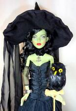 "WICKED WITCH OWL CHARMER w/Black Owl Tonner 19"" Fashion Doll The Wizard of Oz"