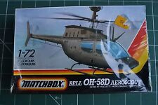 MATCHBOX 1/72 PK43 BELL OH-58D AEROSCOUT HELICOPTER NEW SEALED