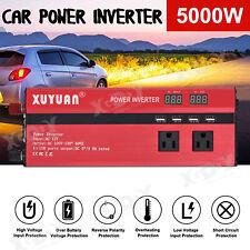 5000W Solar Power Inverter Sine Wave DC12V To AC110V/220V Inverter 4 USB Charger