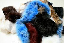 Assorted SUPER LUXURY Faux Fur Fabric Waste Offcuts 1KG
