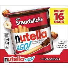 Ferrero Nutella & Go with Breadsticks, 16 ct./1.8 oz.