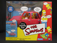THE SIMPSONS - TALKING FAMILY CAR - NIB 2001 COLLECTIBLE