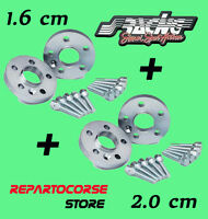 DISTANZIALI SIMONI RACING 16 + 20 mm VOLKSWAGEN GOLF 3 e 4 - POLO - NEW BEETLE
