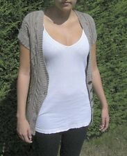 ABERCROMBIE & FITCH LADIES BUTTON UP CARDIGAN