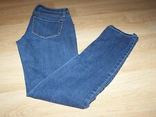 "Size 26 Forever 21 Denim Blue Jeans Inseam 31"" Low Rise 7"" Dark Wash Skinny EUC"