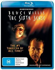 *New & Sealed* The Sixth Sense (Blu-ray, 2008) Horror Movie, Bruce Willis