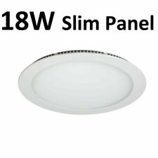 Pack of 4 18W LED Round Recessed Ceiling Panel Down Light Ultra slim Cool White