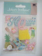 JOLEES BOUTIQUE HAWAII TRAVEL SCRAPBOOKING STICKERS