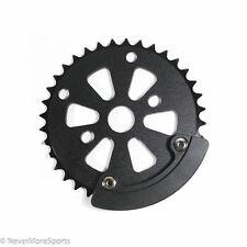 SE Bikes Sprocket Chainwheel with Removable Bash Guard 36t - 24mm Black